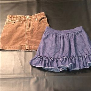 Girls skirts size 5 and 5/6 lot